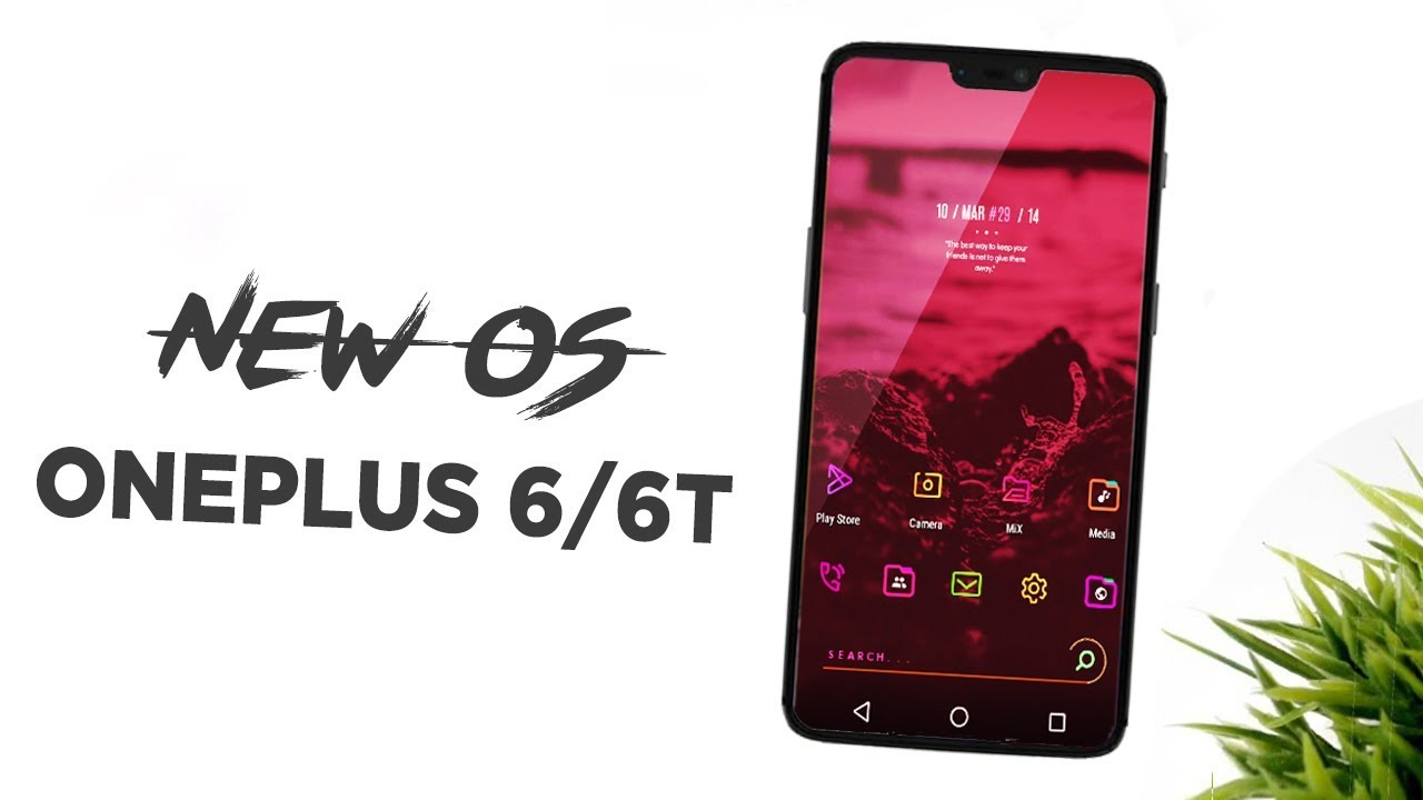 Oneplus 6 New OS - Liquid Remix - Full Review + installation