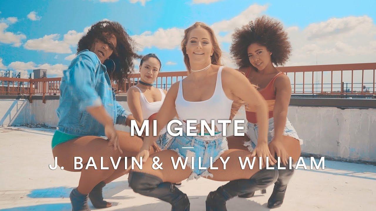 J Balvin Willy William Mi Gente Shirlene Quigley Choreography Dance Stories
