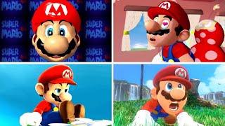 Evolution of 3D Mario Games (1996-2020)
