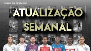 PES 2019 ATUALIZAÇÃO SEMANAL | MUITOS EMPRESÁRIOS ESPECIAIS! (LEGENDS, ARSENAL, BARCELONA, E MTO +)