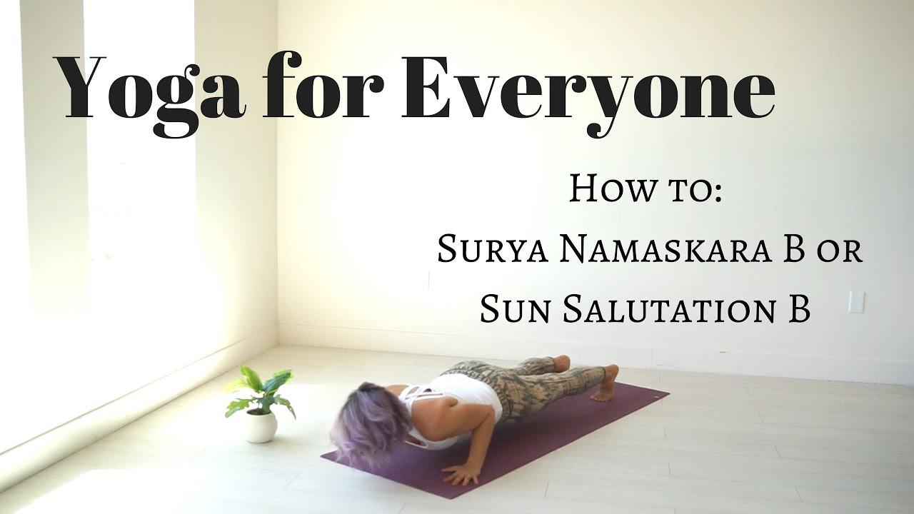 Surya Namaskar Yoga With Adriene
