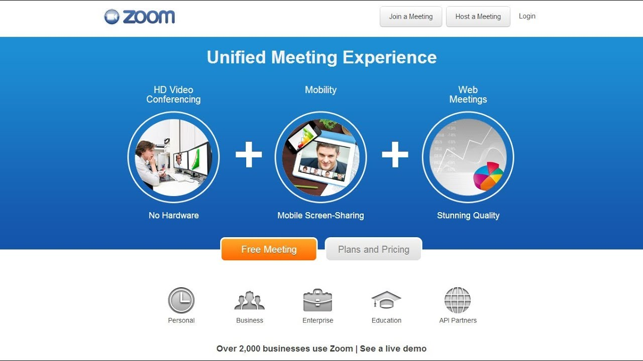 What Is Zoom Us Online Video Conferencing For Free - Lessons - Tes Teach