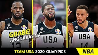 Team USA 2020 Olympic Lineup | Kawhi Leonard, Paul George & More | ANG LALAKAS!