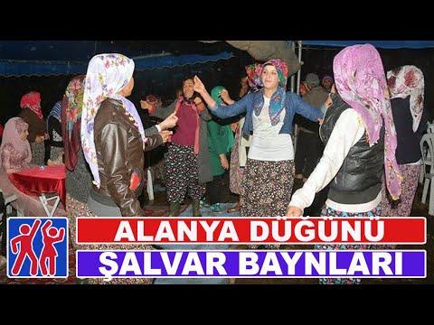 Köylü şalvarlı bayanlar oyun havası/ Rural turkish women folk dancing