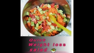 Weight loss salad recipe in tamil / healthy and tasty.....