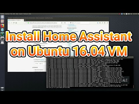 Install Home Assistant on Ubuntu 16 04 VM