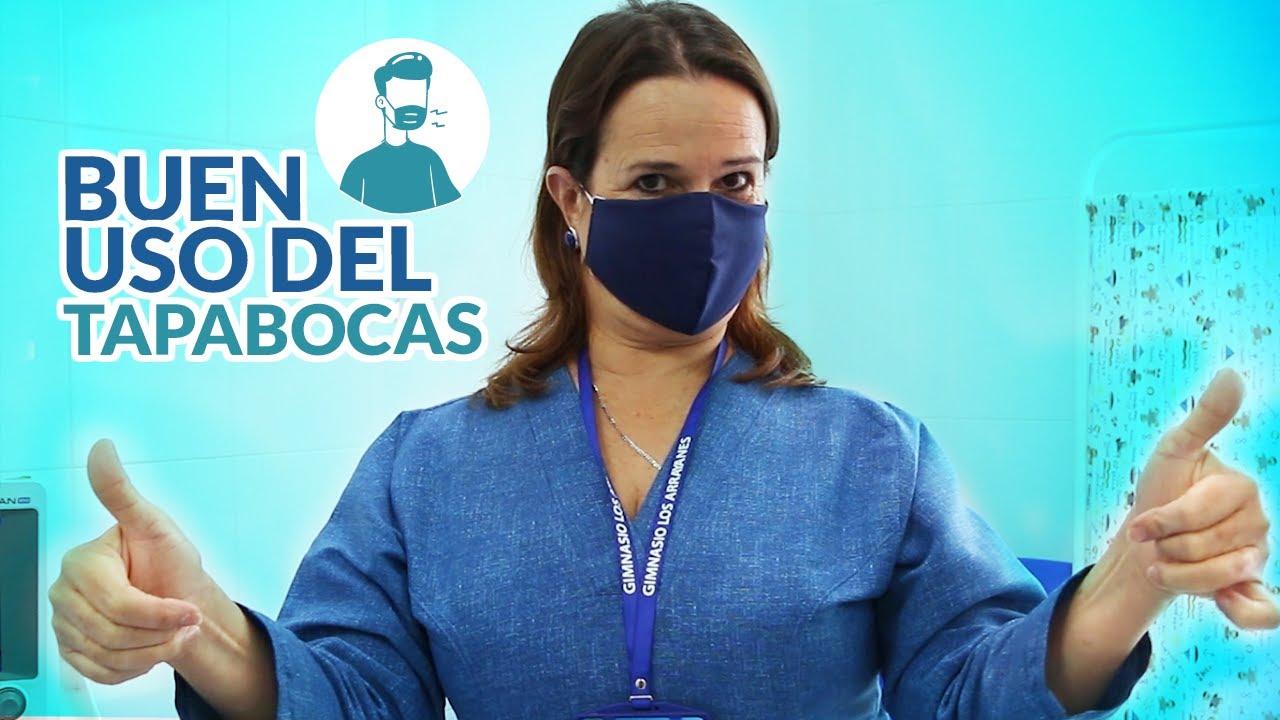 RECOMENDACIONES PARA EL BUEN USO DEL TAPABOCAS #GLA