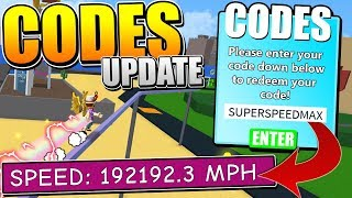 ULTRA SPEED CODES UPDATE IN ROBLOX PARKOUR SIMUALTOR!