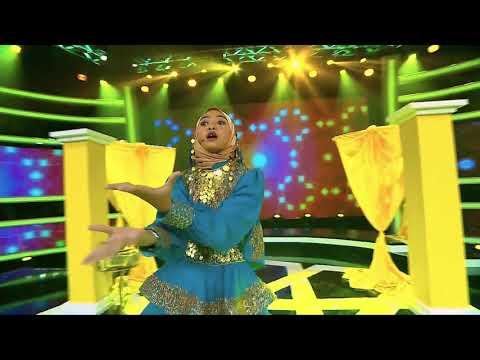 Puteri nyanyi lagu 'Balqis' Siti Nurhaliza..Bunda Bella Terpegun!