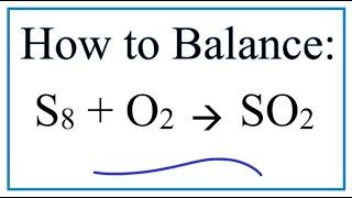 balance s8 o2 so2