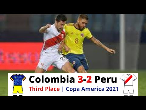 Download Colombia vs Peru Highlights | Third Place | Copa America Brazil 2021