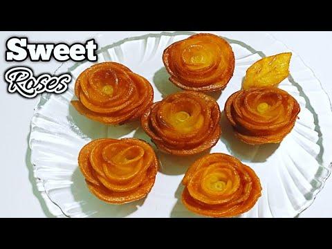 Sweet Roses Recipe in Telugu