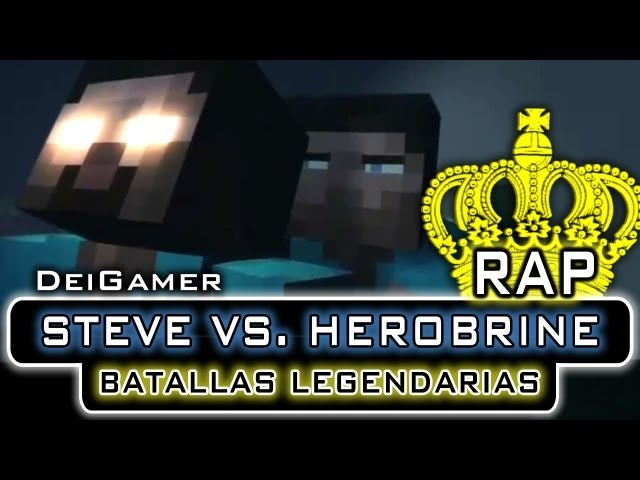 STEVE VS. HEROBRINE | BATALLAS LEGENDARIAS RAP Videos De Viajes