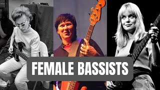 Female Bass Players You Need to Know