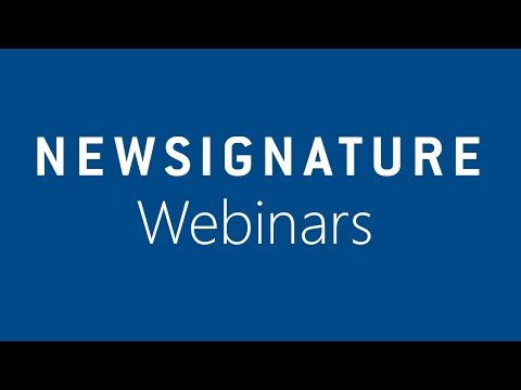 Human Life Sciences (HLS) Compliance and Security Webinar - New Signature
