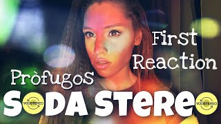 SODA STEREO - first reaction - PRÒFUGOS (Argentinian rock band) 🇦🇷