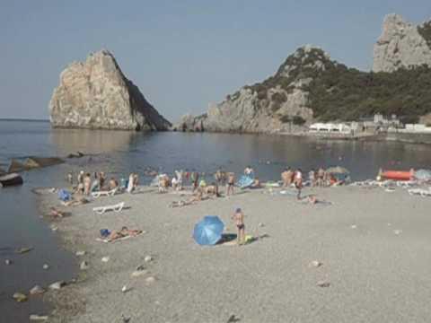 Пляжи Симеиза Отдых в Крыму 62