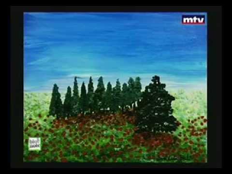 """Equipe Exode-""""Un Brin de Printemps"""" Collective Exhibition-Bénédicte Bali on MTV on 30.01.2014"""