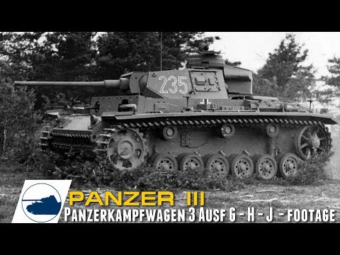 ww2-panzer-iii-ausf-g---h---j---panzerkampfwagen-3-footage-part-4.