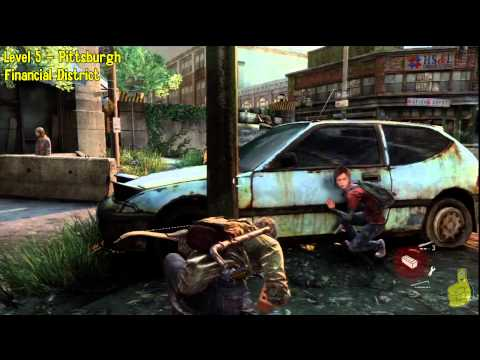 The Last of Us: Level 5 Pittsburgh Walkthrough part 3 - HTG