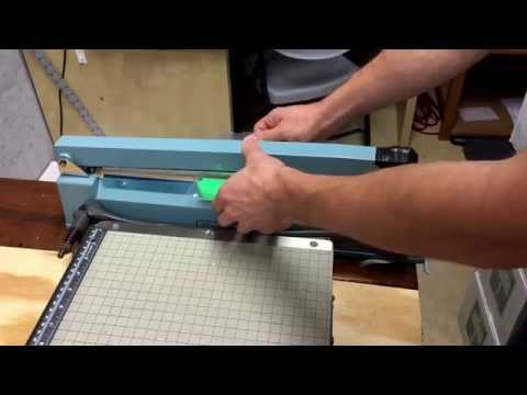 How to use an impulse / thermal sealer