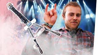 E-Gitarre aus Bolzenschneider bauen   ANLEITUNG Kliemannsland