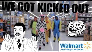 Wearing Onesies in Walmart | KICKED OUT