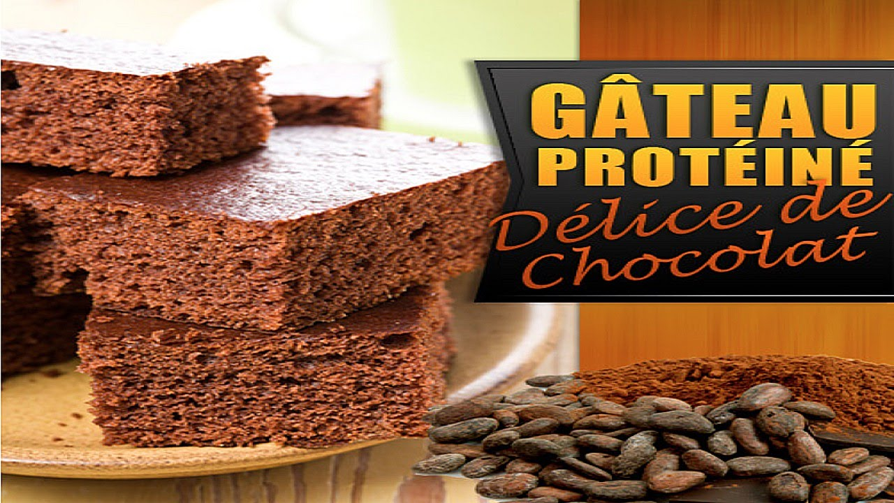 Super Recette Musculation : Gâteau au chocolat proteiné !! - YouTube NR93