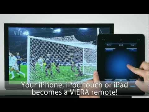 Panasonic Viera Remote Control application for iPhone & iPad