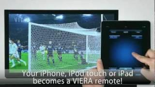 panasonic viera remote control application for iphone ipad