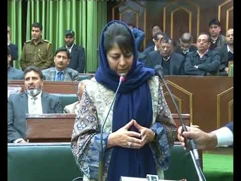 Dialogue only solution for Peace says Mehbooba Mufti.