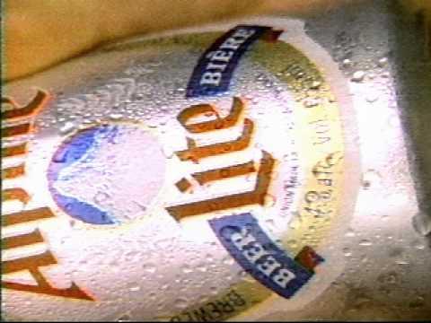 Alpine Lite Beer Commercial 1987