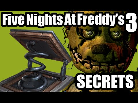 Five nights at freddy s 3 spring trap and secret word fnaf 3 demo