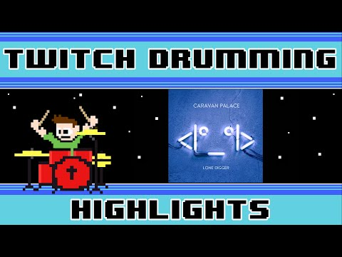 Caravan Palace - Lone Digger (Drum Cover) -- The8BitDrummer