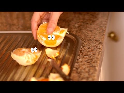 Peeling Orange | He didn't wash his hands!