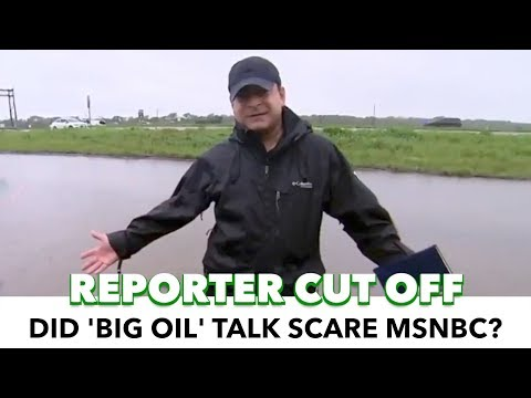 MSNBC 'Loses Connection' While Reporter Discusses Corruption & Big Oil