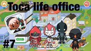 Toca life office | Messy House!! #7