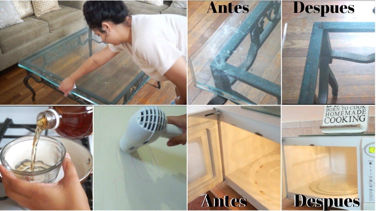 4 Trucos Para La Limpieza De Casa Que Debes Saber Trucos De