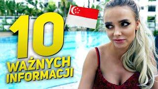10 PRZYDATNYCH INFO PRZED WYLOTEM DO SINGAPURU!