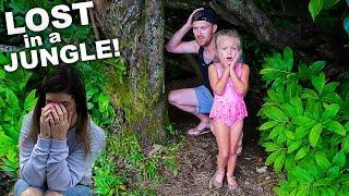 Exploring A Secret Jungle BUT WE GOT LOST! 😳