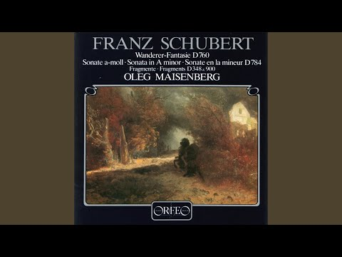 "Fantasy in C Major, Op. 15, D. 760, ""Wandererfantasie"""