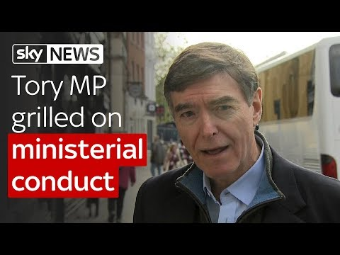 Philip Dunne MP on ministerial conduct