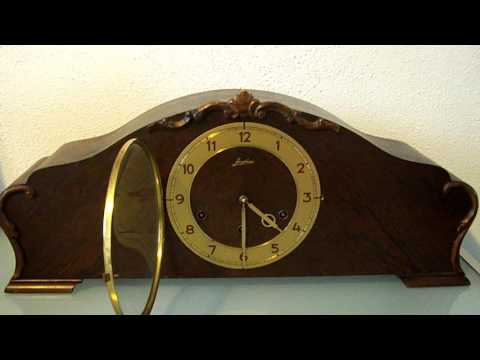 German Junghans   Westminster chime  mantel clock