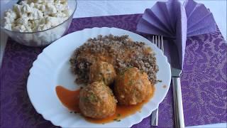 Тефтели Ёжики с рисом - рецепт с подливкой, на сковороде