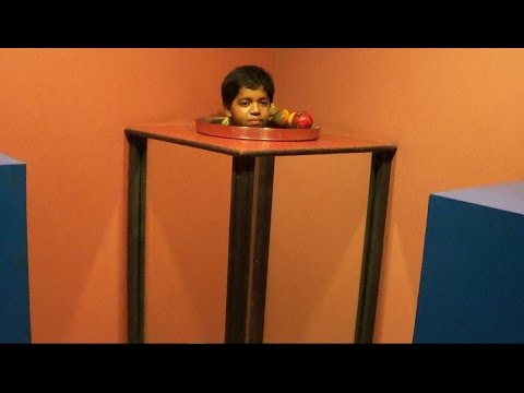 Fun science at Vishweshwaraiah museum Bangalore