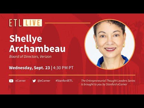 ETL Speaker Series: Shellye Archambeau, Verizon
