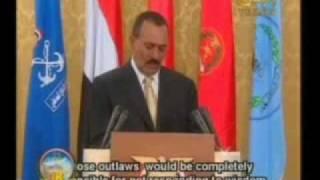 كلمة رئيس الجمهورية اليمنية في عيد الوحدة الــ 18