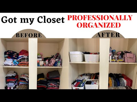 How to get organized in 2021 Closet Organization Ideas with a Professional Closet Organization Ideas