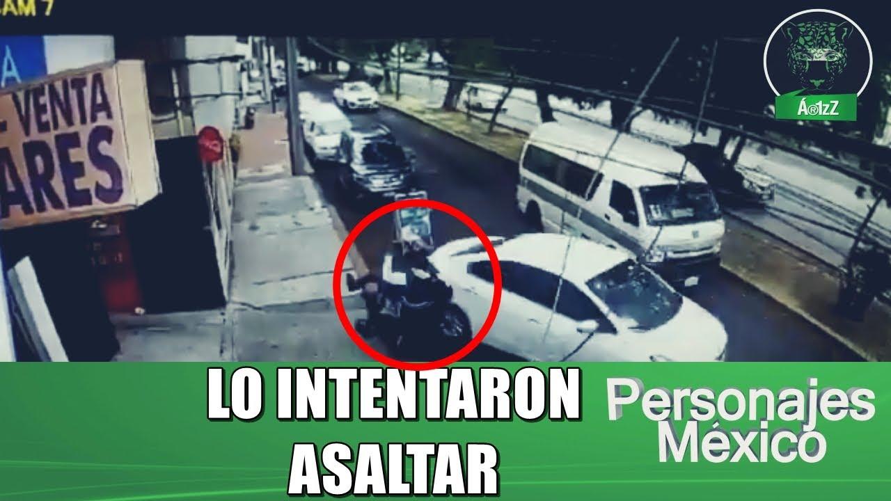 سائق حاول اثنان من اللصوص سرقته تحت تهديد السلاح فدعسهم بسيارته