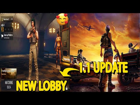 PUBG MOBILE 1.1 UPDATE IS HERE/PUBG NEW SEASON 16 UPDATE[NEW LOBBY,NEW MAP AND MORE😍]